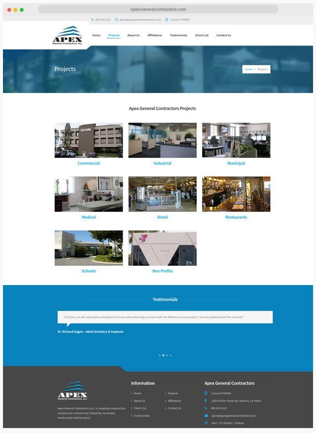 Construction Web Designer