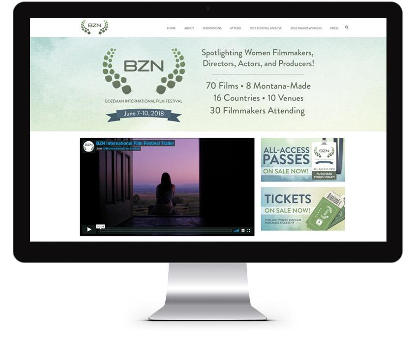 Orange County Film Festival Web Design Company