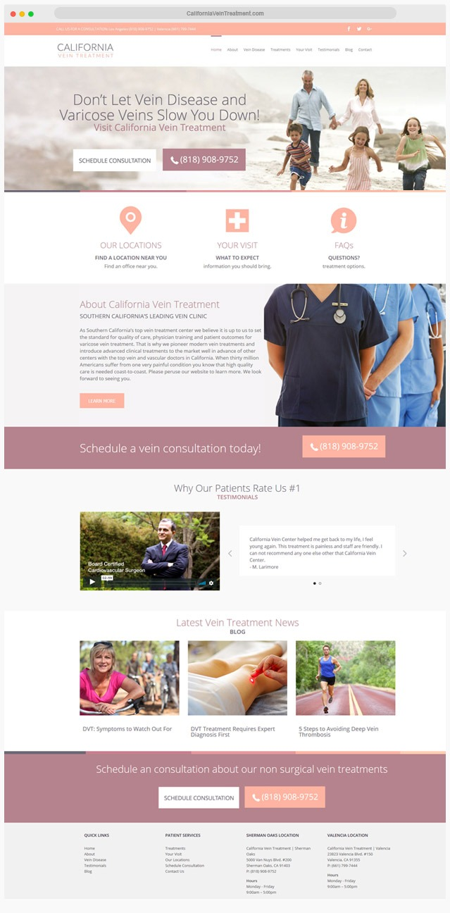 Ventura County Medical Web Design Company