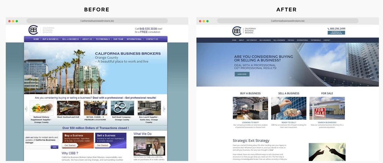 Orange County Business Broker Web Designer