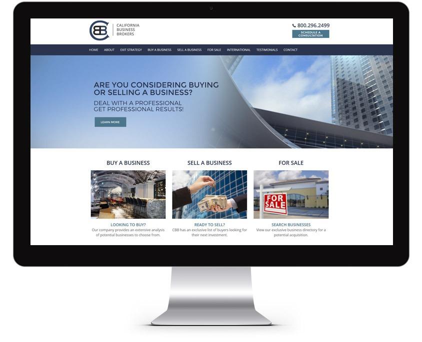 Orange County Business Broker Web Design Company