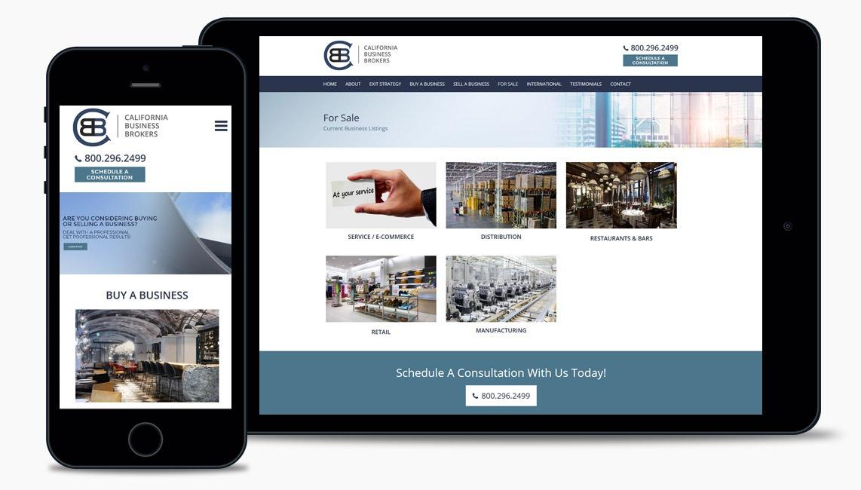 Salad Business Broker Web Design Company
