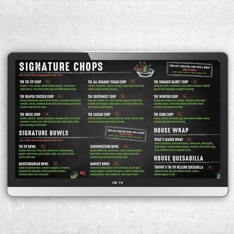 Restaurant Digital Menu Graphic Designer