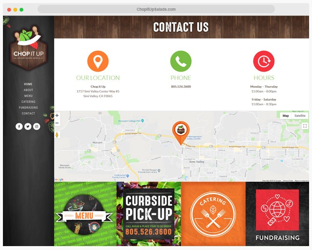 Ventura County Restaurant Web Design Company