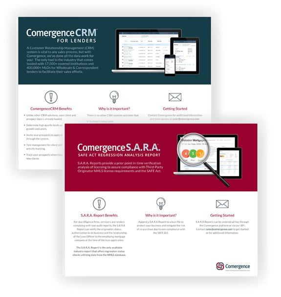 Mortgage Product Data Sheet Design Company