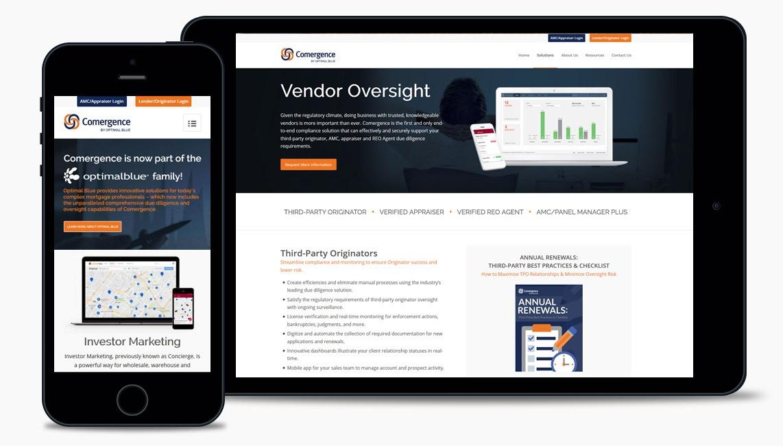 Salad Mortgage Compliance Web Design Company