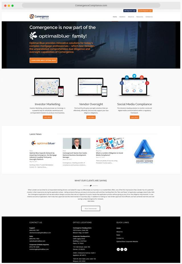 Mortgage Compliance Web Designer