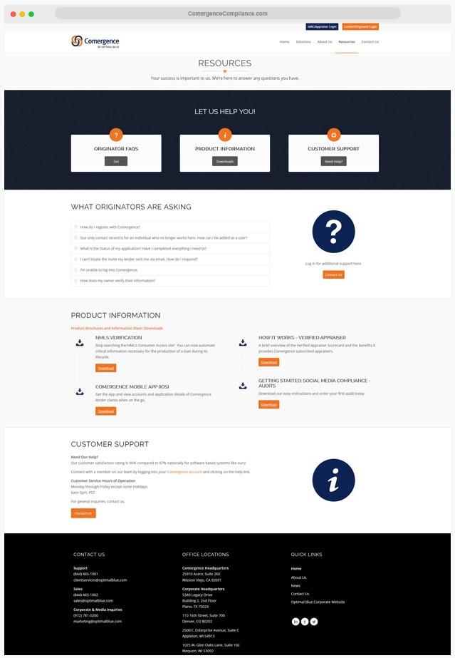 Ventura County Mortgage Compliance Web Design Company