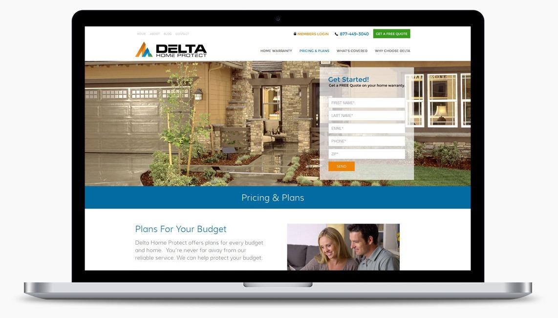Orange County Home Warranty Web Designer