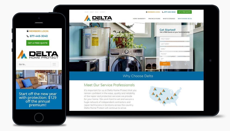 Salad Home Warranty Web Design Company