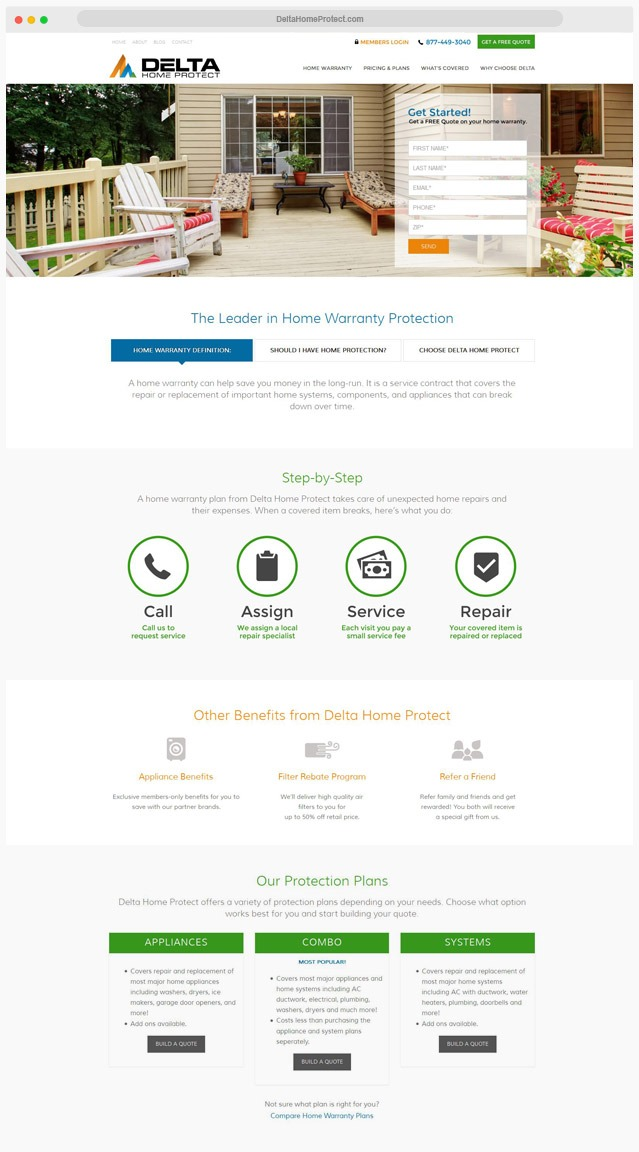 Ventura County Home Warranty Web Design Company