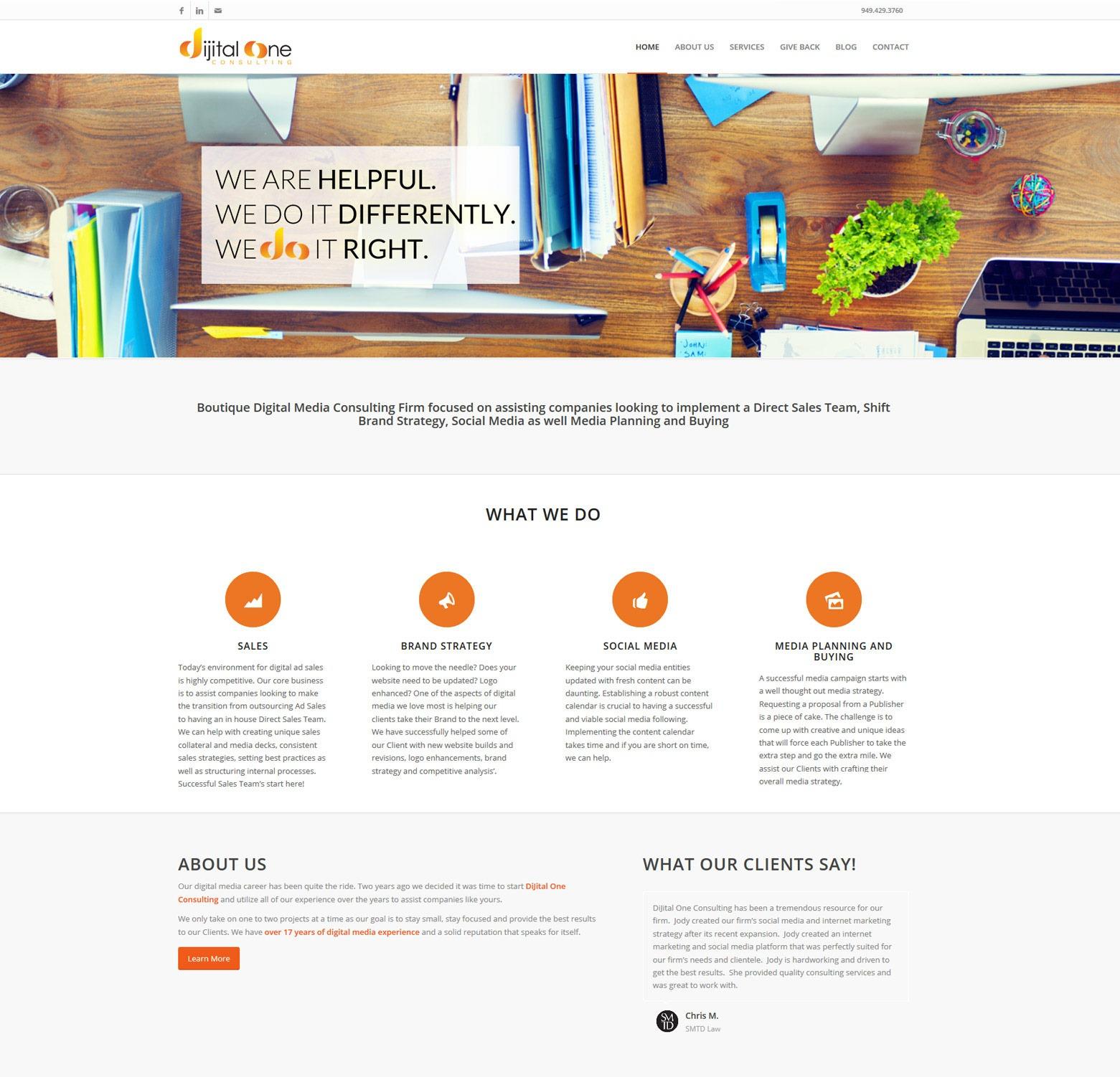 LA Angeles Consulting Web Design Company