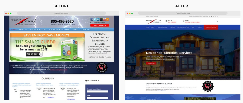 Orange County Electric Company Web Designer