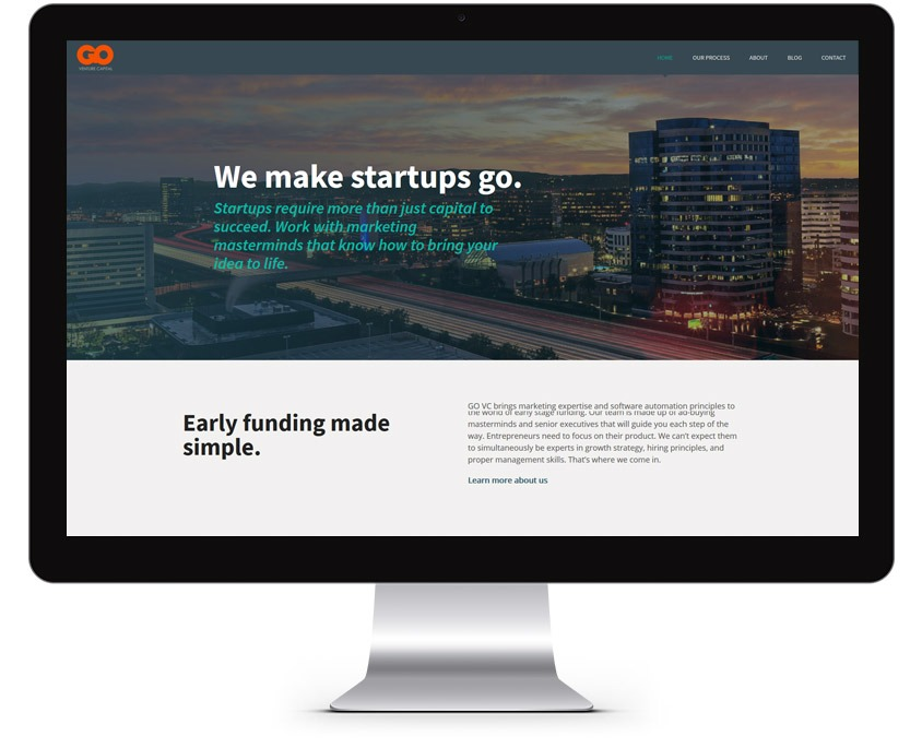 Orange County Venture Capital Web Design Company