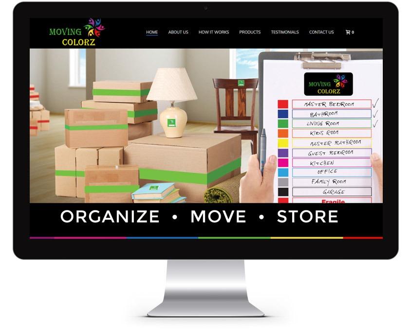 Orange County Storage Company Web Design Company