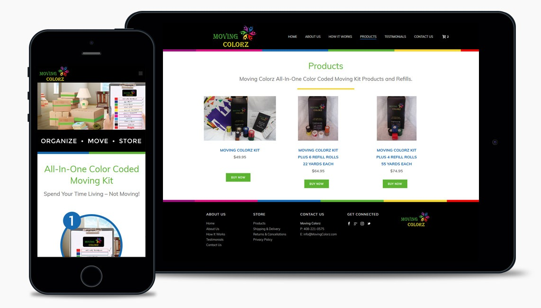 Salad Storage Company Web Design Company