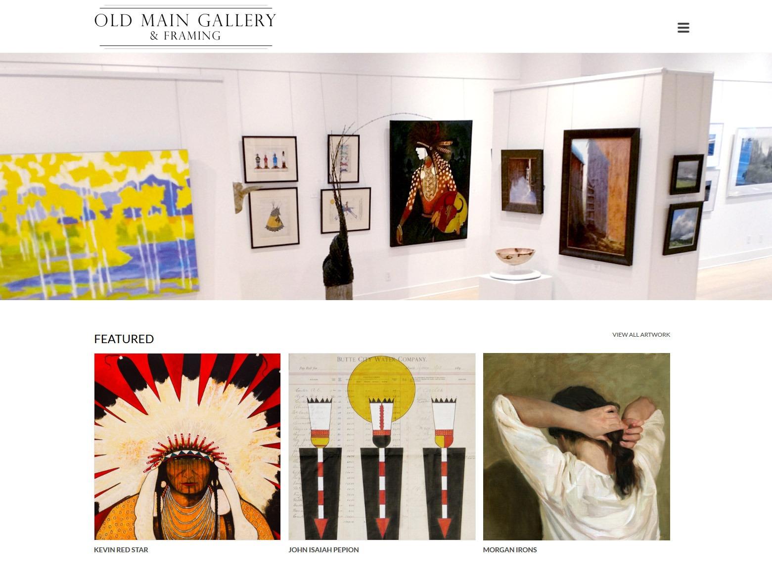 Los Angeles Gallery Web Design Company