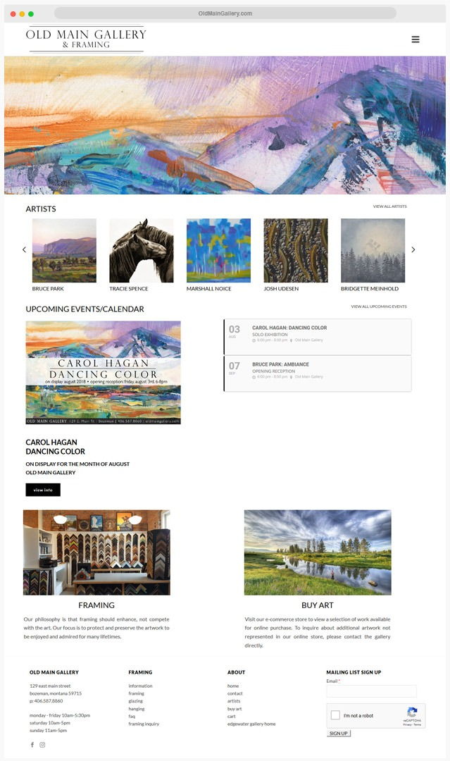 Gallery Web Designer