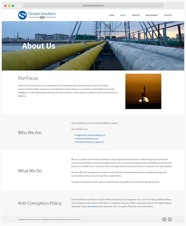 Commodity Website Company