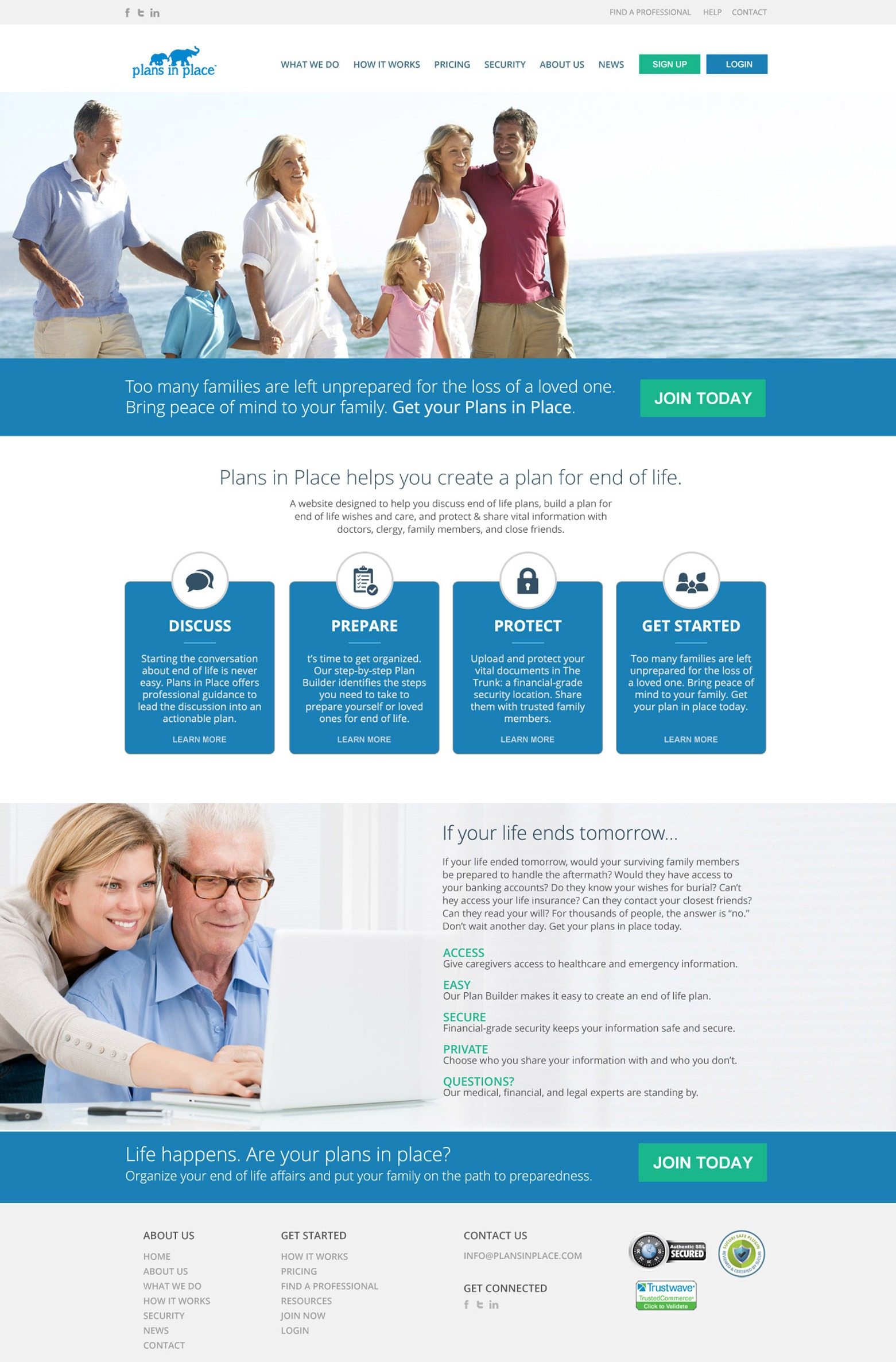 LA Angeles Estate Planning Web Design Company
