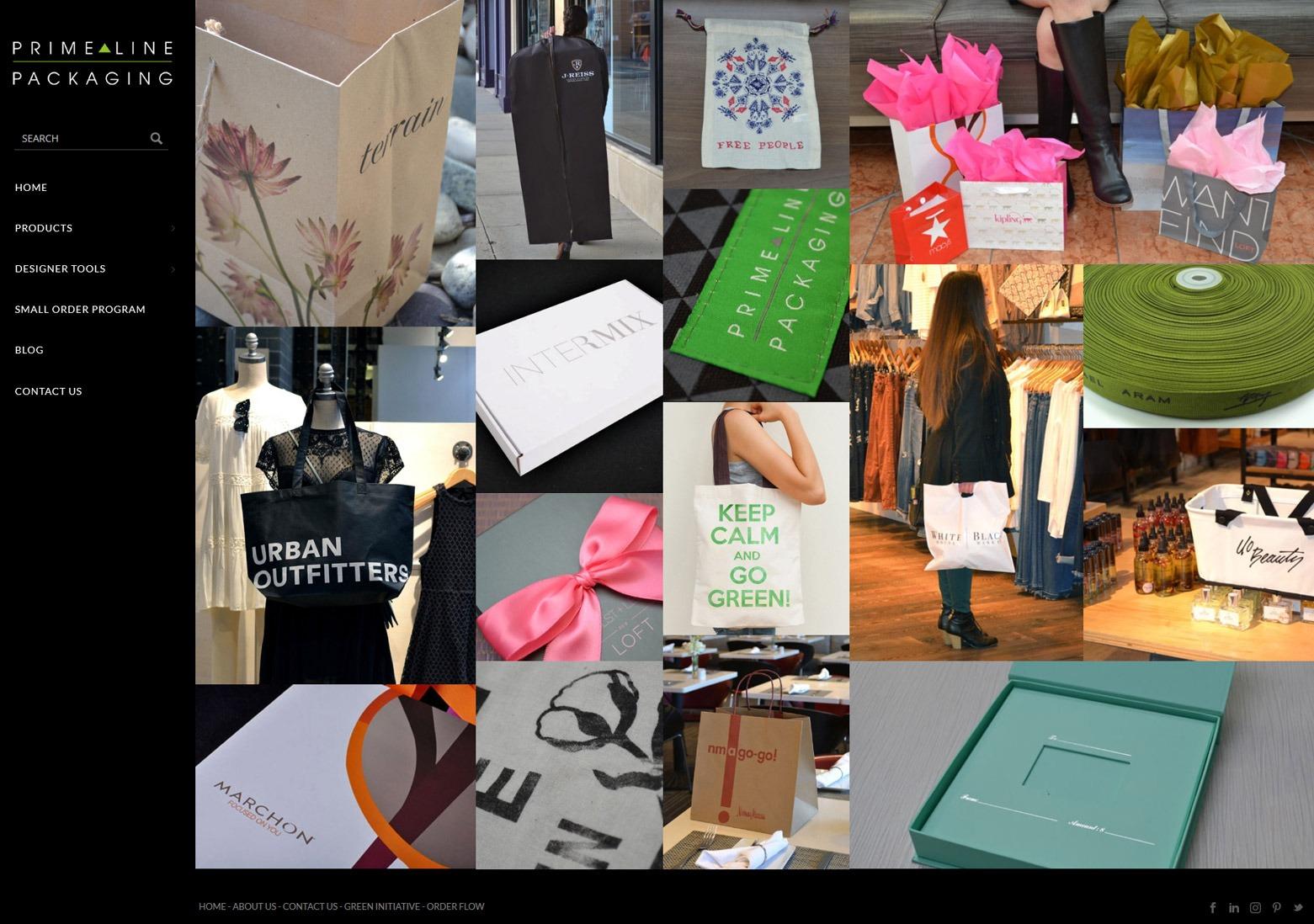 LA Angeles Packaging Web Design Company