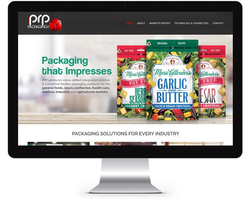 Packaging Web Design Company