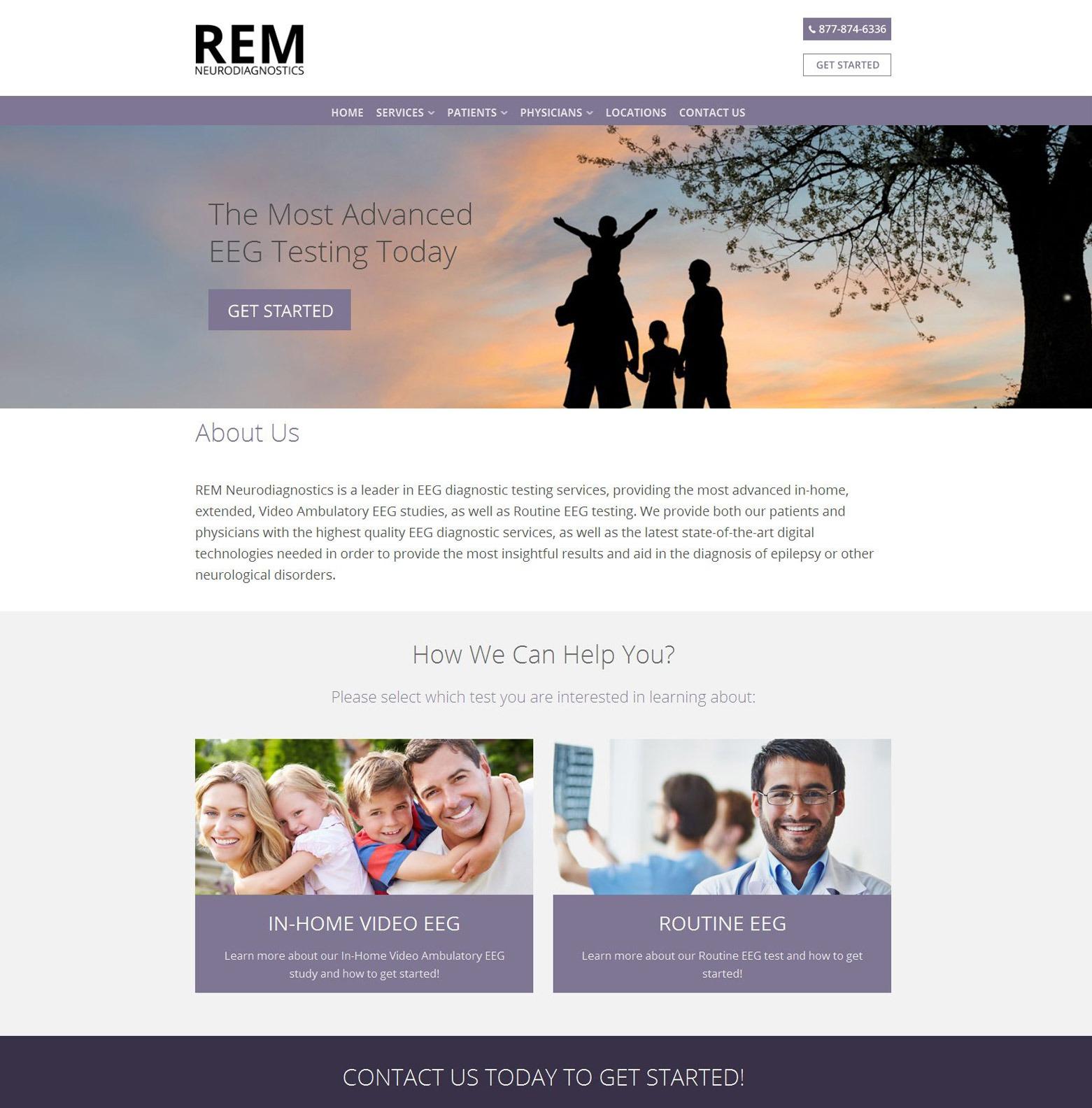 Los Angeles Medical Clinic Web Design Company
