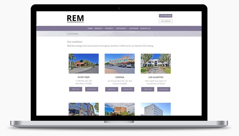 Orange County Medical Clinic Web Designer