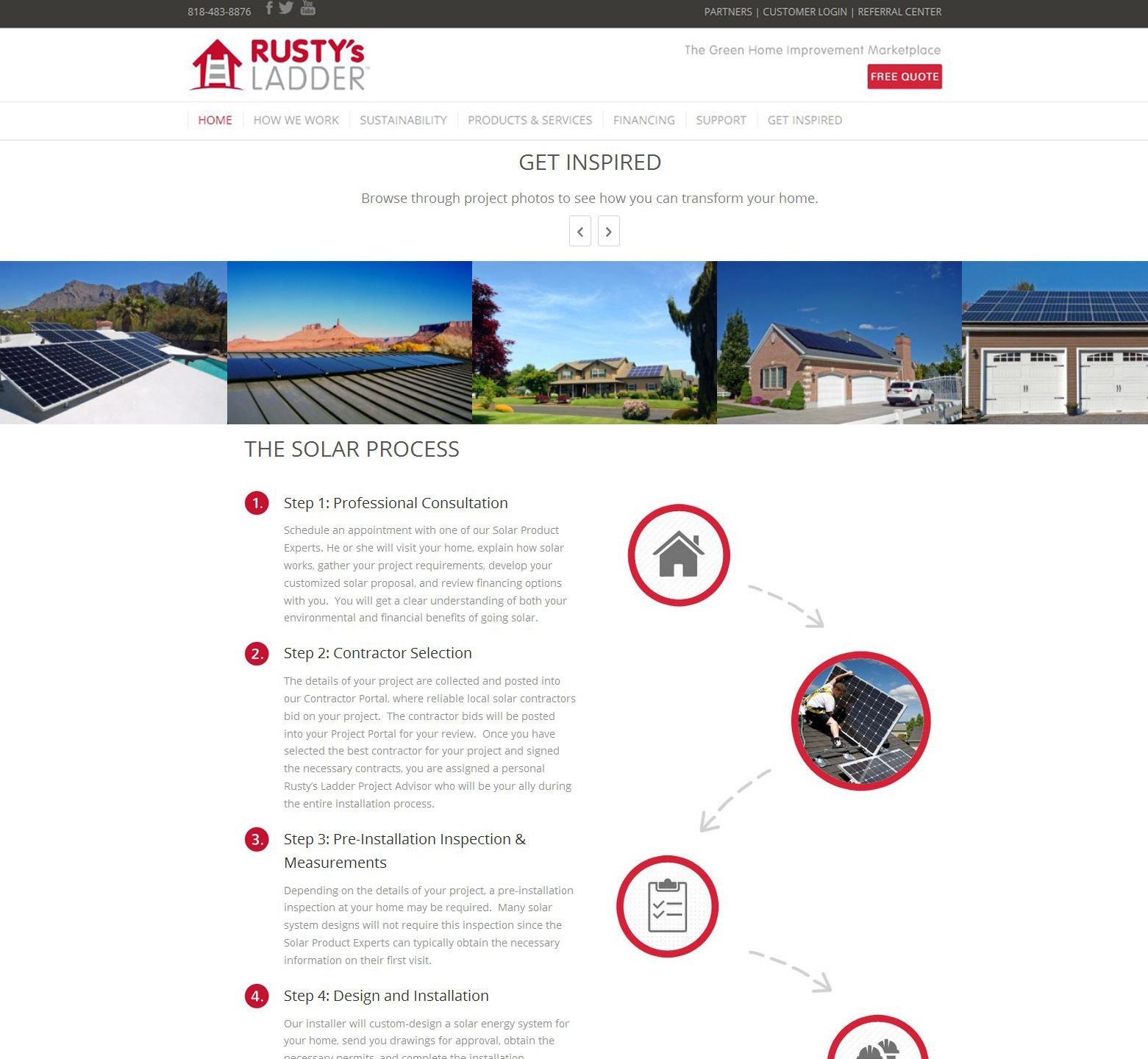 LA Angeles Solar Web Design Company
