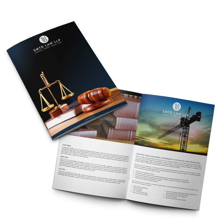 Law Office Brochure Design Company