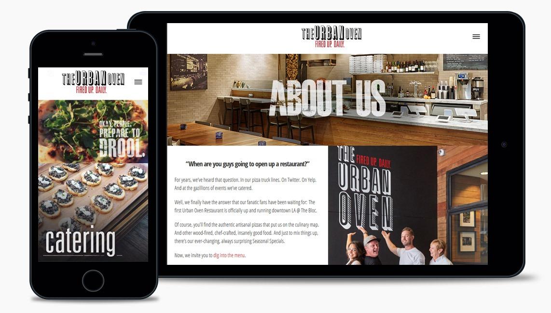 Salad Pizzeria Web Design Company