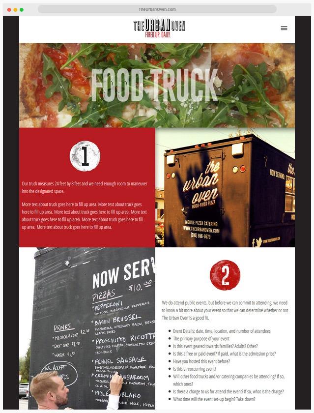 Ventura County Pizzeria Web Design Company