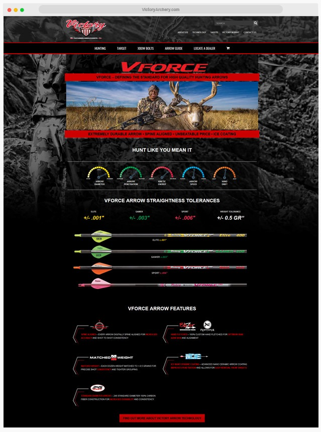 Archery Website Company