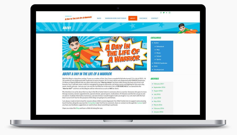 Orange County Blog Web Designer
