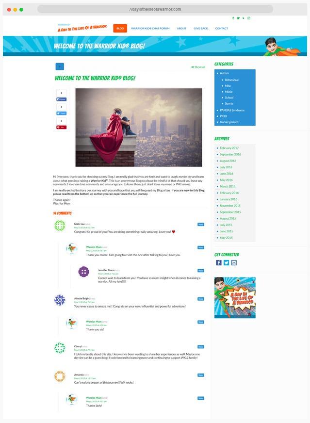 Blog Web Designer