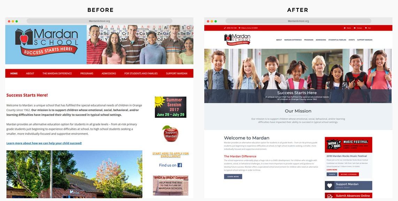 Orange County Private School Web Designer