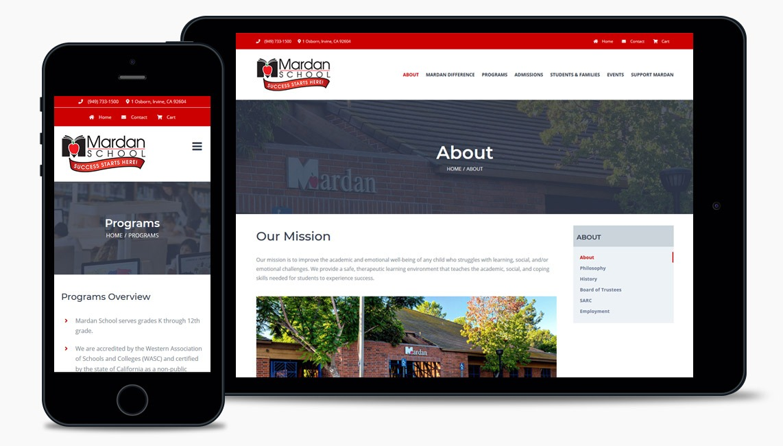 Private School Web Design Company