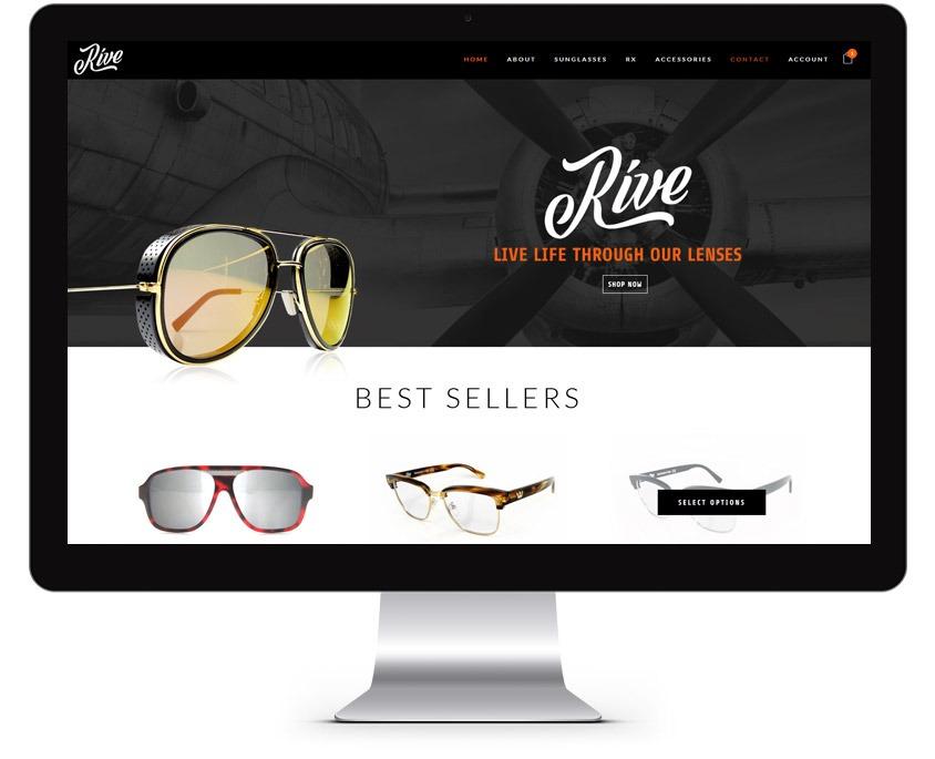 Sunglasses Web Design Company