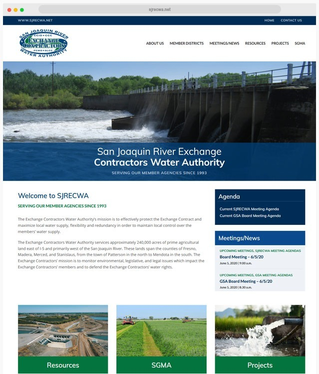 Agricultural Web Design Company