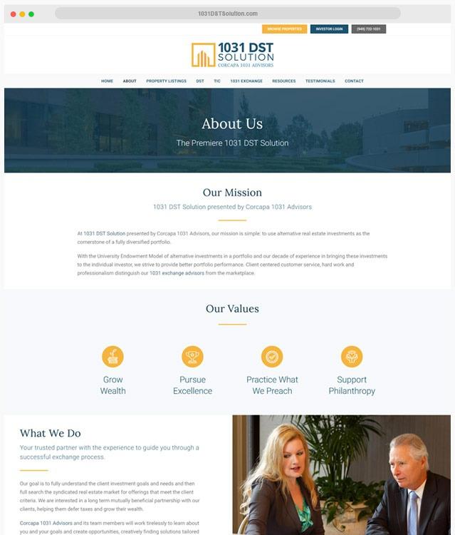 Investment Web Design Company
