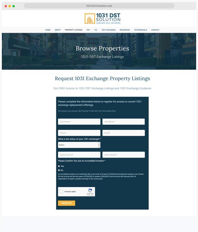 Real Estate Web Designer
