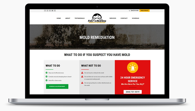 Restoration Website Design Company