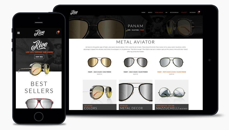 Sunglasses Website Design Company