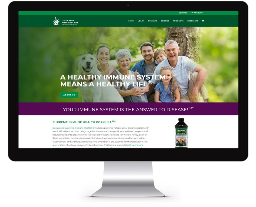 Supplement Web Design Company