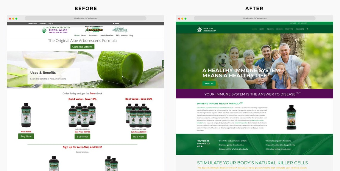 Supplement Web Designer