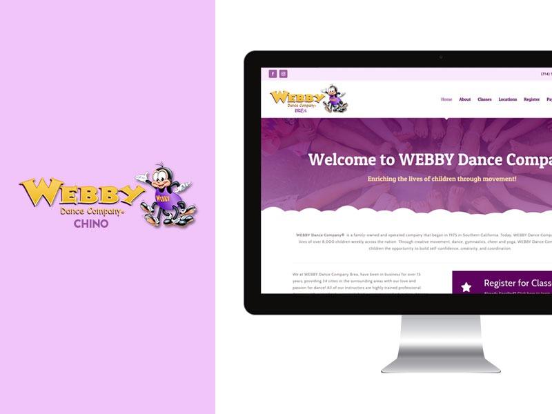 Web Designer for Dance Studio
