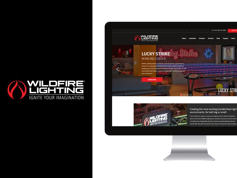 Web Designer for Lighting Company