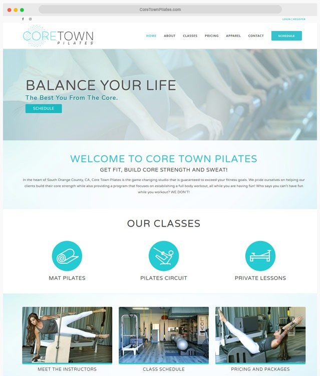 Yoga Web Designer